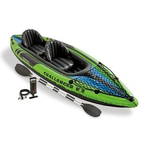 Camping Inflatable Kayak Canoe Set Gonflable 11016