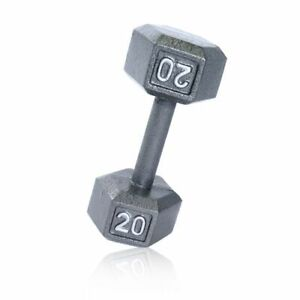 CAP Barbell Cast Iron Hex Dumbbell 2 - 20lbs