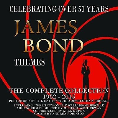 James Bond Themes  C   James Bond Themes  Complete Collection 1962 2015  New Cd