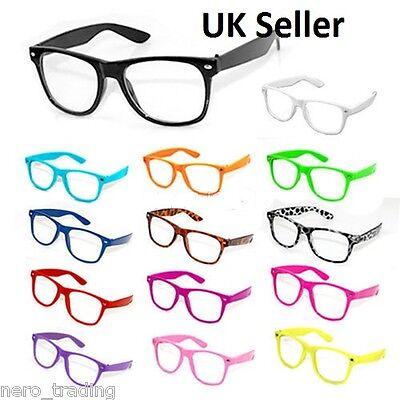 Halloween Fancy Dress Witches Glasses Clear Lens Nerd Geek  Sunglasses uk
