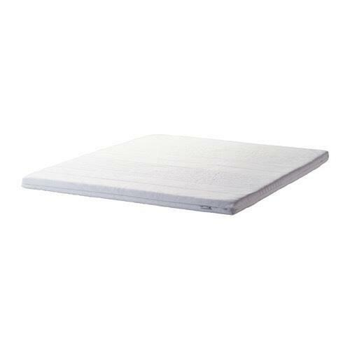ikea double memory foam mattress topper new in stapleton. Black Bedroom Furniture Sets. Home Design Ideas