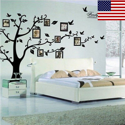 Home Decoration - Home Family Photo Frame Tree Sticker Wall Decal Vinyl Removable Room Decor Gift