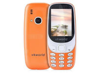 Vkworld Z3310 Quad Band Unlocked Phone 2.4 inch 3D Arc Screen Spreadtrum