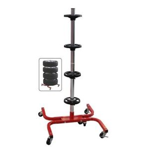 Tire Stand w/ Wheels
