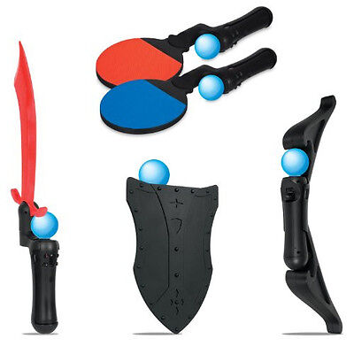 Dreamgear Dgps3-3817 Playstation Move 5-In-1 Game Essentials Brand New