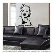 Wandtattoo Marilyn Monroe