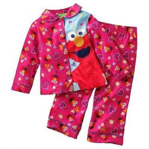 Girls Elmo Pajamas