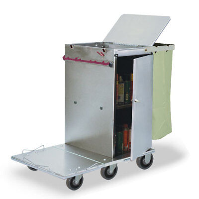 Royce Rolls F30 Stainless Steel Mini-size Non-folding Housekeeping Cart