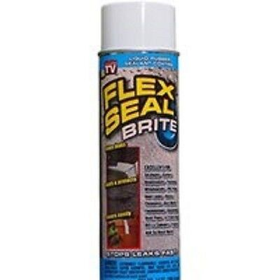 New Flex Seal Fsb20 Brite Off White Large 14oz Jumbo Can Liquid Rubber Sealant