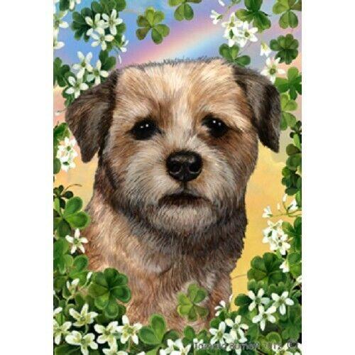 Clover House Flag - Border Terrier 31122
