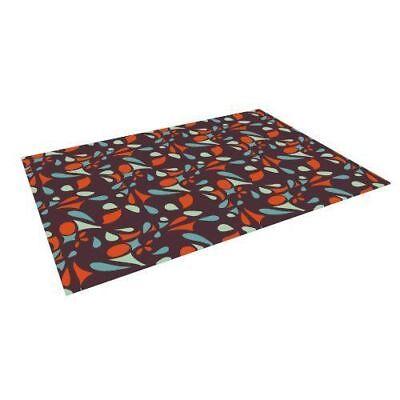 "Kess InHouse Miranda Mol ""Retro Tile"" Indoor/Outdoor Floor Mat, 4-Feet by 5-Feet"