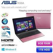 Asus Pink Laptop