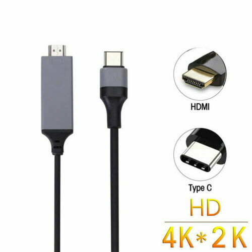 Type C to USB-C HDMI USB 2.0/ For iPhone to HDMI Cable Adapter For Iphone 7 8 x