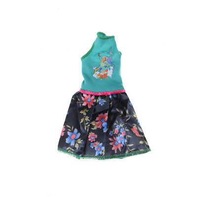 Beautiful Handmade Fashion Clothes Dress For  Doll Cute Lovely Decor HI