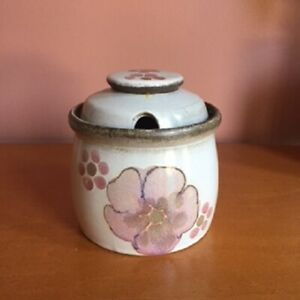"COVERED SUGAR Denby ""GYPSY"" hand painted"