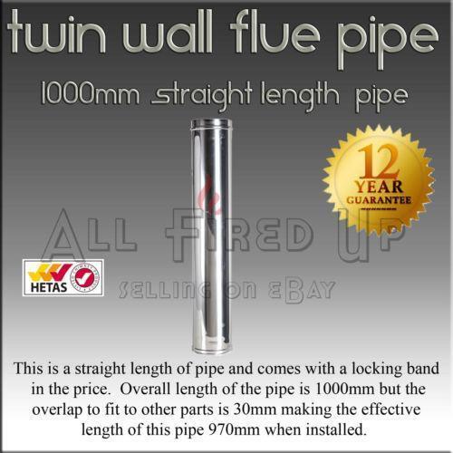 Twin Wall Flue Home Furniture Amp Diy Ebay