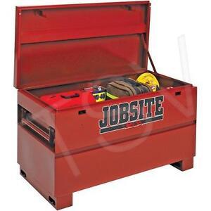 "JOBOX Heavy-Duty 48"" Jobsite Chest Tool Storage"