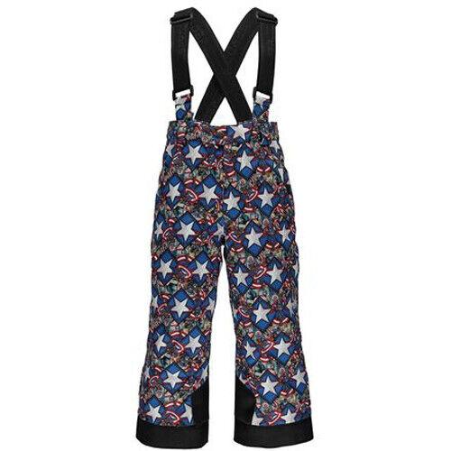 Spyder Kids Mini Marvel Propulsion Bib Snow Pants, Size 4 Boy
