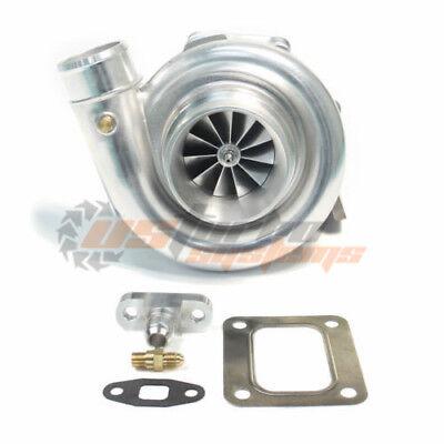 T76R Dual Ball Bearing Billet Wheel Comp .80A/R T4 .81 A/R Q-trim Turbo Charger ()