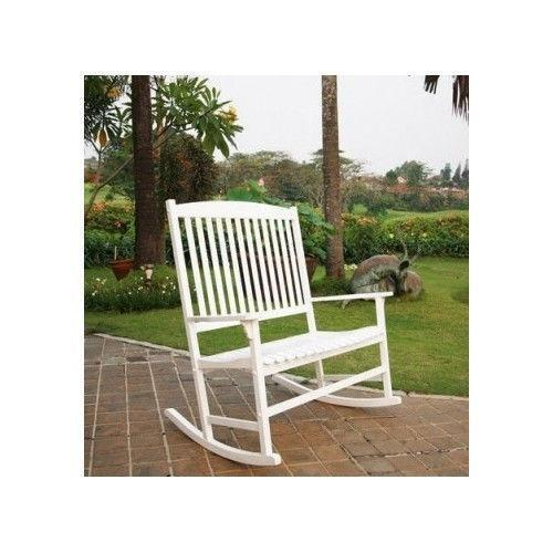 white outdoor rocking chair. White Outdoor Rocking Chair O