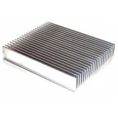 5.375 Wide Extruded Aluminum Heatsink By The Inch Made In The Usa