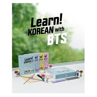 [BTS] Learn! KOREAN with BTS Book Package + DHL