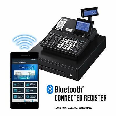 Casio PCR-T2500 4.5-Inch Bluetooth Cash Register Brand New