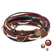 Mens Leather Wristband