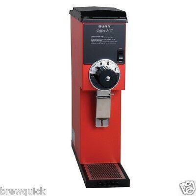 Bunn G3 Hd 3 Lb. Red Bulk Coffee Grinder