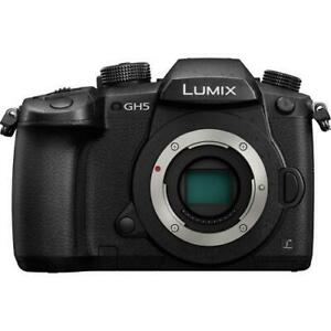 Panasonic GH5 body BRAND NEW with full Canadian warranty