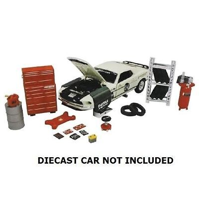 Hobby Gear 1:24 Scale Repair Garage Shop Diorama Set for Diecast Model Toys