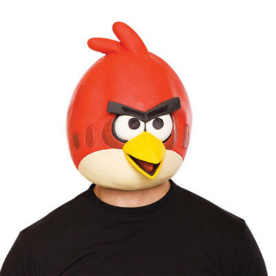 Angry Birds Red Bird Mask Halloween Accessory