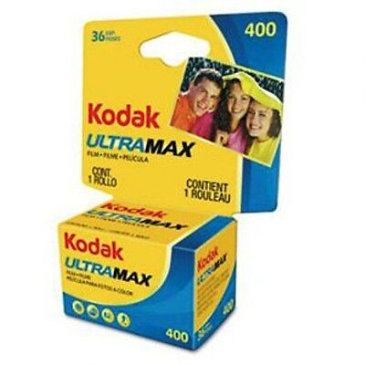 Kodak GC 135-36 Max ISO 400 Color Print 35mm Film