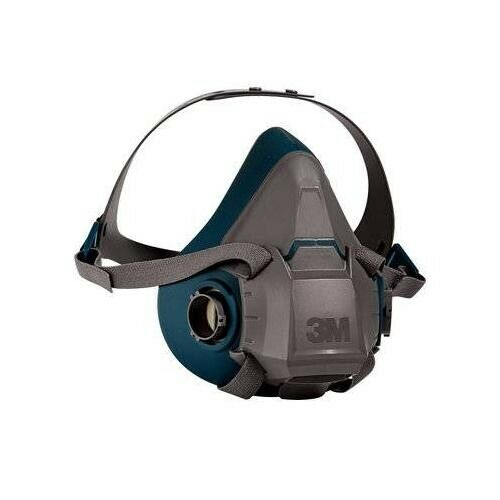 3M 6502 Rugged Comfort Half Facepiece Reusable Respirator, Size: MEDIUM Business & Industrial