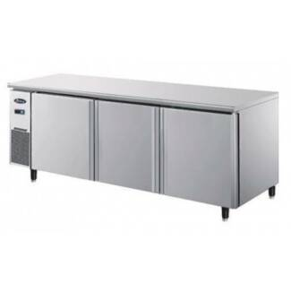 Commercial Under Bench Fridges - Three Door Under Counter Fridge