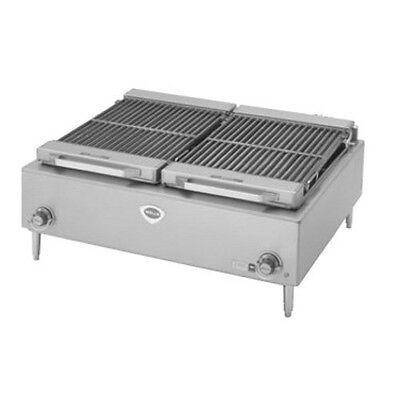 "Wells B-50 36"" Wide Electric Countertop Charbroiler"