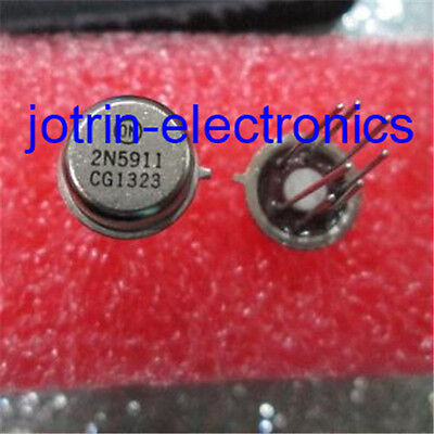2n5911 Can-7 Dual N-channel -25 V 40 Ma Jfet High Frequency Amplifier