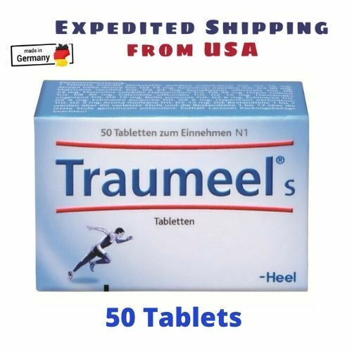 Traumeel S Homeopathic (50 Tablets) Pain Relief Anti Inflammatory