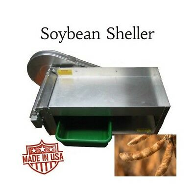 Taylor Pea and Bean Sheller for Soybeans Electric Edamame Soy Shelling