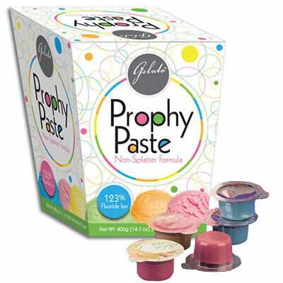 Keystone 24-02677 Gelato Prophy Paste Cups Medium Grit Assorted 200pk