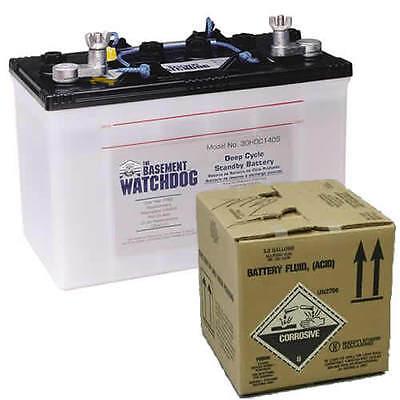 Basement Watchdog Backup Battery Battery Acid