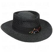 Straw Golf Hat