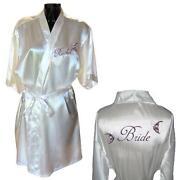 Satin Bride Robe