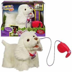 FurReal Walking Dog on leash