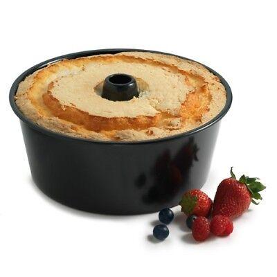 NorPro 3977 Non-Stick Angel Food Cake Pan Removable Base Baking Norpro Baking Pans