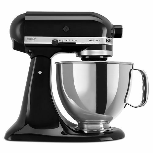 KitchenAid Stand Mixer tilt 5-QT RRK150 Artisan Tilt Choose The Beautiful Colors Black ob