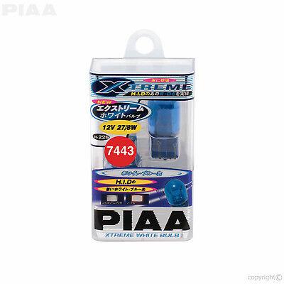 H-226 PIAA XTREME WHITE W21/5W (580) T20 Wedge Capless Bulbs 27/8W BLUE HID LOOK