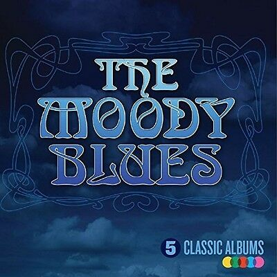 Изображение товара The Moody Blues - 5 Classic Albums [New CD] UK - Import