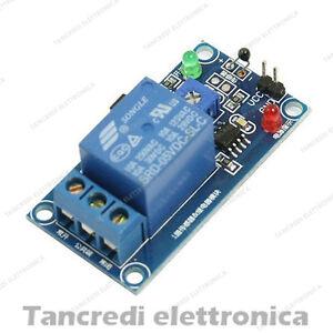 Modulo scheda 1 relè 5V 10A termico temperatura termistore relay sensore shield - Italia - L'oggetto può essere restituito - Italia