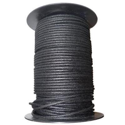 1M Algodón Trenzado Eléctrico Del Automóvil Cable 12 Calibre Negro